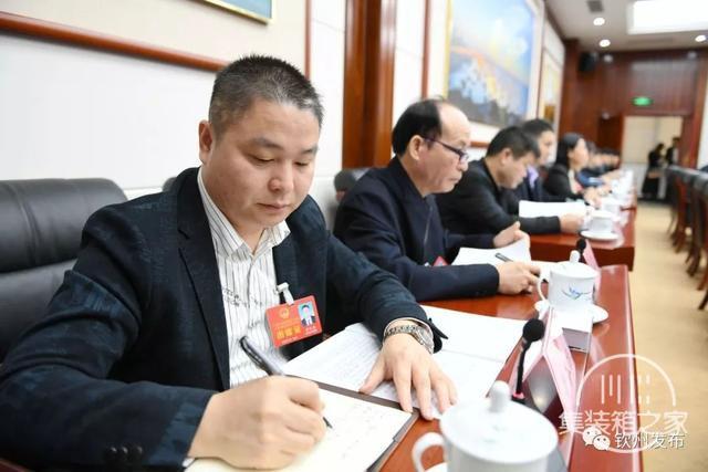 钦州市代表团热议:打造高端产业集群 做强临海大工业-10.jpg