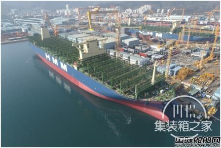 交付23艘超大型集装箱船!2020年将再现超大型箱船交付潮-1.jpg