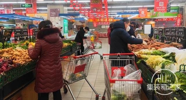 探访长春超市:供应充足,价格平稳-1.jpg