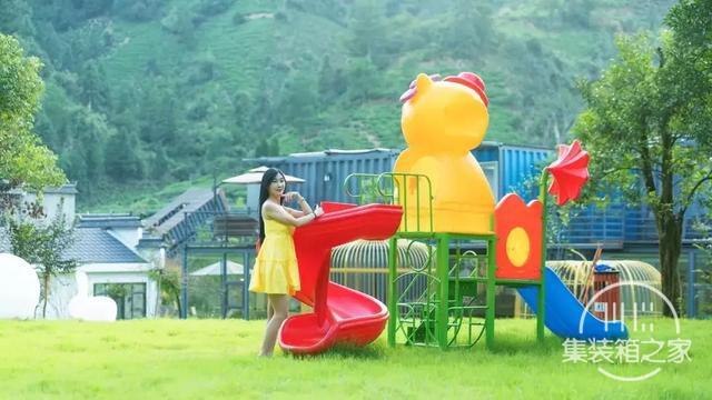 """黄山山水间藏了家""""集装箱组成""""的亲子民宿,遛娃8000㎡山水间-30.jpg"""