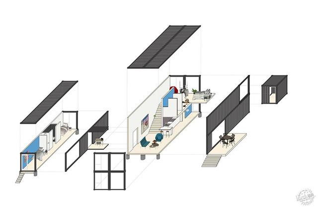 模块化建筑的人情化设计   美国集装箱住宅-11.jpg