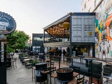 Doca Steak Burger集装箱餐厅210平方米