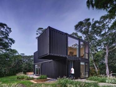 模块化建筑的人情味设计纽约州集装箱住宅