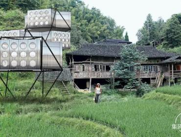"""插件塔"""" 集装箱住宅万科发起一年一度的实验建筑展"""