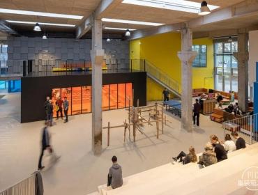 集装箱结构参与的校园改造