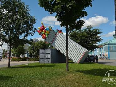 集装箱创意设计艺术展品