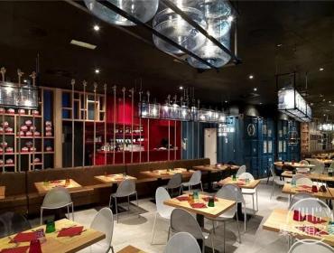 为城市增色-意大利Pizzikotto集装箱餐厅