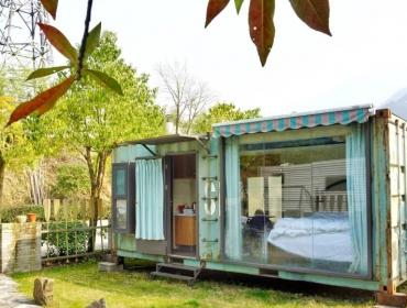 绿皮集装箱度假屋