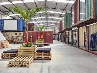 五彩集装箱工坊