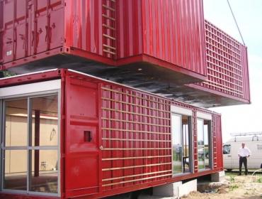 (patrick partouche)建造设计的集装箱住宅