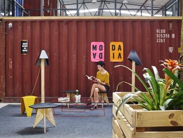 彩色集装箱时尚创意工坊