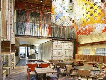 色彩缤纷的Nando餐厅