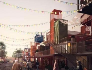 开罗集装箱住宅餐厅