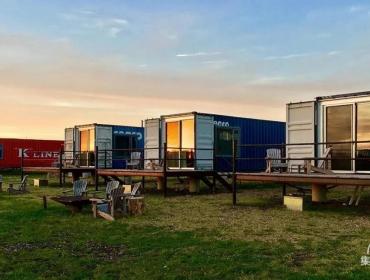 美国FlopHouze海运集装箱酒店