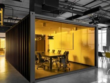 -Remix创意集装箱办公空间
