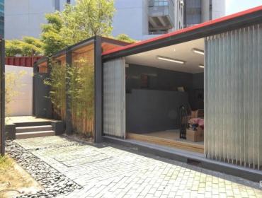 香港沙田社区绿色站集装箱绿色站