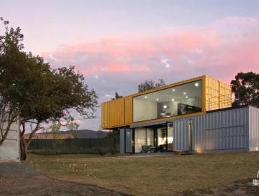 白桃花心木林照公寓-集装箱的形式设计