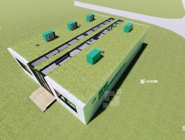 江苏南京国网电科院集装箱实验室
