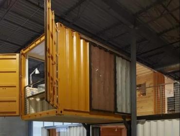 加拿大Ben Homes的集装箱办公室