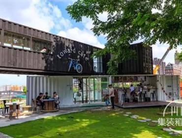 台湾集装箱咖啡馆