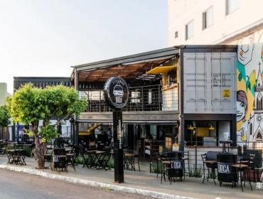 巴西多卡牛排汉堡集装箱餐厅