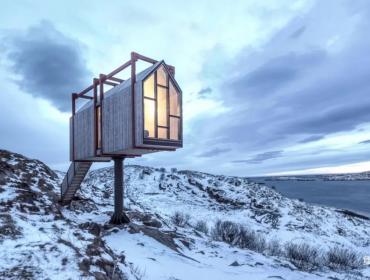 挪威冰期生物种遗区民宿集装箱