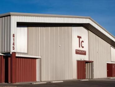 Tradecraft Industries的总部集装箱办公室