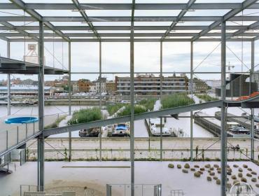 比利时活力集装箱社区公园