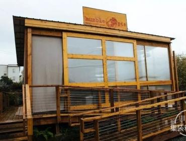 西雅图Humble Pie 集装箱餐厅