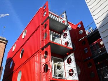 集装箱建筑城