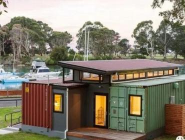 塔斯马尼亚洲的集装箱小屋