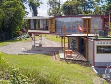 哥斯达黎加集装箱别墅