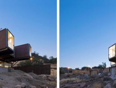 郊区集装箱现代别墅