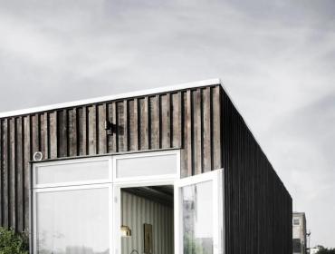 工业用金属外墙和集装箱房屋