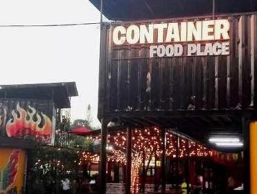 里萨拉尔达集装箱餐厅