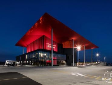 加拿大露天剧场集装箱建筑