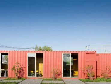 智利集装箱154平方办公室