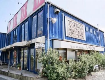 日本集装箱面包店