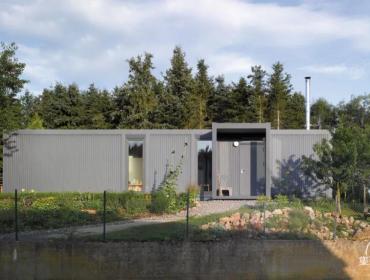 外形独特的私人住宅· 集装箱住宅
