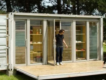 移动式集装箱度假小屋
