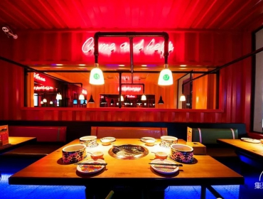 上海集装箱自助餐厅