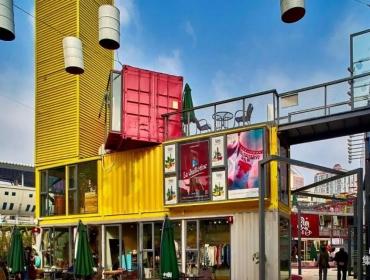 集装箱商业广场,创造短期孵化器及聚集地
