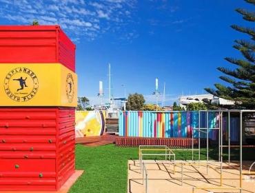 都市绿洲-澳大利亚弗里集装箱公园