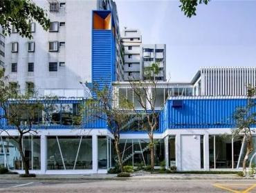 台湾TINHOUSE集装箱餐厅