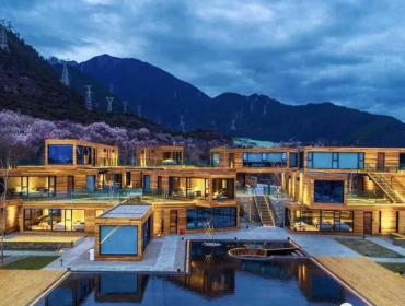 中国西部地区集装箱酒店