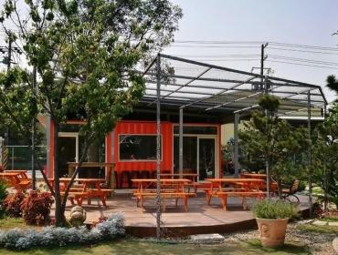 亚洲小资集装箱餐厅